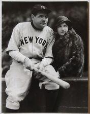 1996 George Brace Photographer Signed Babe Ruth Promo Postcard Baseball Photo