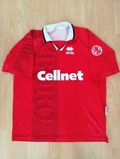 Middlesbrough Vintage Football Jersey 1996 97 L Cup Finalist Old Cellnet Shirt