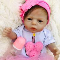 22inch 55cm Lifelike Reborn Baby Doll Girls Toddler Newborn Anatomically Correct
