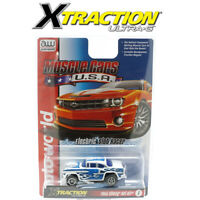 Auto World Xtraction R30 1955 Chevy Bel Air Blue HO Scale Slot Car