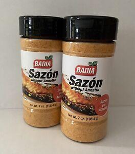 2Badia Sazon sin Achiote w/o Annatto 7oz Gluten Free Seasoning 0 Carb Sugar Free