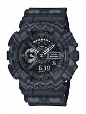 CASIO G-SHOCK LIMITED EDITION BLACK TRIBAL PATTERN MEN'S WATCH GA-110TP-1A NEW
