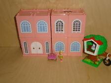 Polly Pocket Dream Builders Deluxe Mansion Stapelvilla Villa House Haus Baumhaus