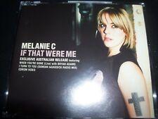 Melanie / Mel C If That Were Me Australian Exclusive 5 Track Enhaced CD Single