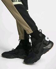 * SIZE 9.5 MEN'S Nike Air Huarache City Black Sneakers AH6787 003 RUNNING