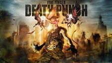 """006 Five Finger Death Punch - FFDP 5FDP Heavy Metal Band Music 25""""x14"""" Poster"""