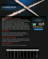 OBAN Oi Series Graphite Iron Shafts 43 gram - 103 gram L Flex - X Flex BRAND NEW