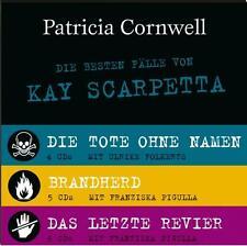 Die besten Fälle von Kay Scarpetta - 15 CDs: Brandherd / Das letzte Revier / Tot