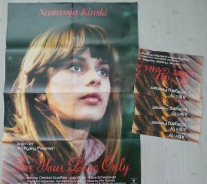 Konvolut / Lot  60x Filmplakate  For Your Love Only / Nathalie / Man Stirbt Nich
