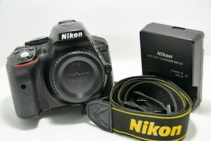 Nikon D5300 24.2MP Digital SLR Camera - Black (Body Only)