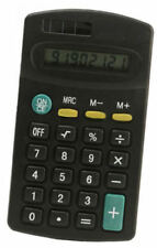 SMALL 8 DIGIT DISPLAY MINI POCKET SIZE CALCULATOR for Home School Office Regular