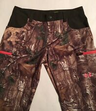 NWT Womens Under Armour Camouflage Hunting Pants Size 10 Scent Control MSRP $129