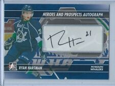"2013-14 ITG HEROES AND PROSPECTS ""AUTOGRAPH"" RYAN HARTMAN BLACKHAWKS!!!!"