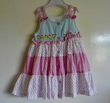 Baby Girls Dress 3-6 Months Cotton Fully Lined (K)