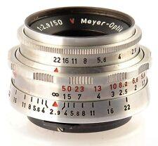 Meyer Optik Gorlitz Trioplan 2.9/50mm f/2.9 red T* mount Altix No.768232
