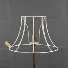 "12"" Bowed Empire Traditional Light Shade Wire Frame for DIY Lampshade"