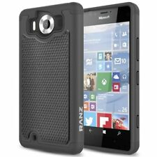 For Microsoft Lumia 950 Case, Heavy Duty Dual Layer Armored Hybrid Case Cover