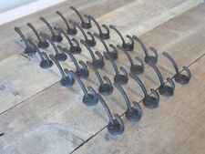 25 COAT HOOKS HAT KEYS POTS PANS DOG LEASH STORAGE ORGANIZATION RUSTIC CAST IRON