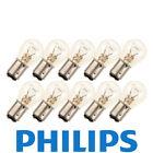 10x Phillips 1157 12v Light Bulb  Brake Stop Signal Turn Tail Lamp
