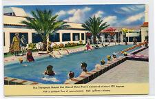 Desert Hot Springs Mineral Water Pool California postcard