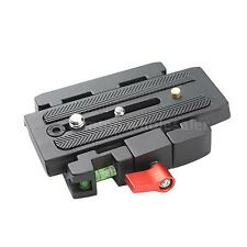 P200 Quick Release Clamp QR Plate for Manfrotto 501 500AH 701HDV 503HDV Q5 J5I3