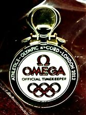 *** 2012 OMEGA LONDON TOKYO 2020 JAPAN OLYMPIC GAMES COLLECTOR PIN