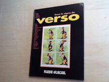"EO FLUIDE GLACIAL 1995 ""VERSO"" 54p.coul. GOTLIB,BINET,BLUTCH,GOOSSENS,ÉDIKA,SOLÉ"