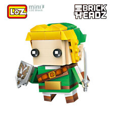 LOZ Zelda Game Brick Head Action Figure Toy Mini Building Blocks 154pcs