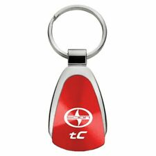 Scion TC Key Ring Red Teardrop Keychain