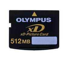 512MB OLYMPUS XD MEMORY CARD STANDARD TYPE FUJI FINEPIX/OLYMPUS CAMERAS 512 MB