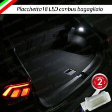 PLACCHETTA A LED BAGAGLIAIO 18 LED SPECIFICA PER AUDI A3 8V SPORTBACK 6000K