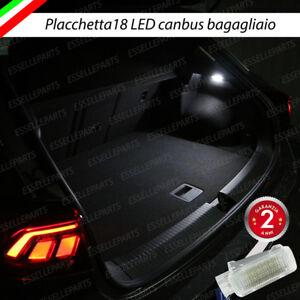 PLACCHETTA A LED BAGAGLIAIO 18 LED SPECIFICA SEAT ATECA 6000K BIANCO CANBUS