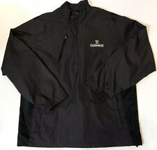 NEW Mens Large Guiness Northend Pullover Windbreaker Jacket