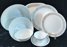 Corelle by Corning WOODLAND BROWN 35 Pieces Service for 6 +