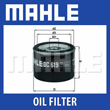 MAHLE Motorbike Oil Filter OC619 for BMW and Husqvarna Motorcycles - Single