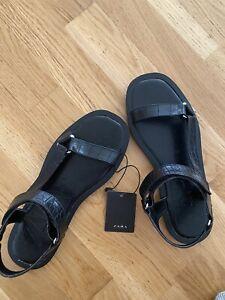 Zara Sandals Size 4