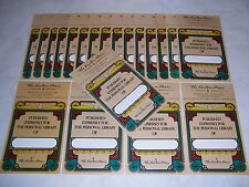 Easton Press bookplates with Classic Design, 20 counts (book plates)