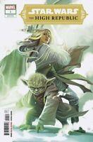 Star Wars The High Republic #1 Stephanie Hans Yoda Variant Marvel Comics 2021