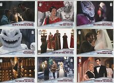 Doctor Who 2015 Complete CHRISTMAS TIME 10 CARD Chase INSERT SET