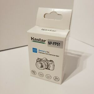 Kastar Battery for Sony NP-FP30 NP-FP50 NP-FP51 NPFP60 NP-FP70 FP71 NP-FP90 FP91