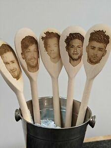 One Direction Harry Styles Wooden Spoons Personalised Engraved