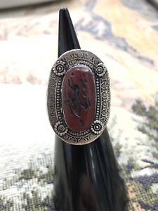 Vintage afghani silver ring