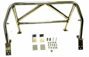 OBX Racing 4-Point Roll Bar Polish for 90-97 Miata MX-5 NA NB Hardtop compatible