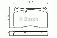 Bremsbelagsatz Scheibenbremse - Bosch 0 986 494 207