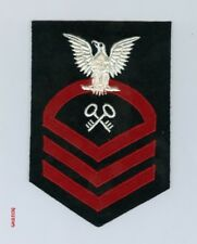 UNITED STATES NAVY RANK - WWII CHIEF PETTY OFFICER CHEVRON (STOREKEEPER) 1942