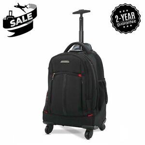 Aerolite easyJet 4 Wheel Trolley Bag Laptop Rucksack Backpack Business Luggage