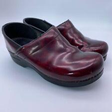 Womens Dansko Bettie Black Shearling Lined Lo Pull On Boot 9428107800 Size 39
