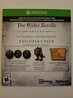 Elder Scrolls Online Preorder Bonus DLC Explorer's Pack (Xbox One)