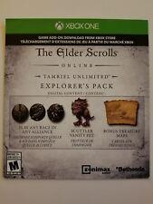 Elder Scrolls Online Explorer's Pack (Xbox One)