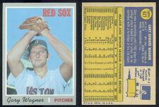 (33215) 1970 Topps 627 Gary Wagner Red Sox-EM